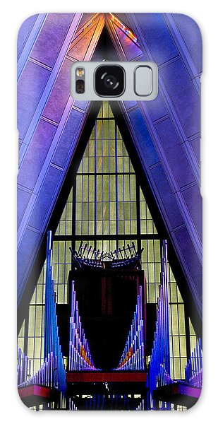 Air Force Academy Chapel Galaxy Case