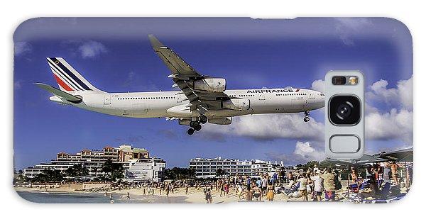 Air France St. Maarten Landing Galaxy Case