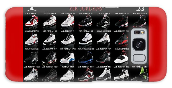 Air Jordan Shoe Gallery Galaxy Case