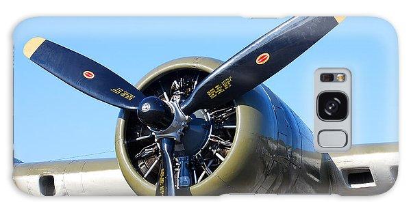 Air Power. B-17 Flying Fortress Engine Galaxy Case by Connie Fox