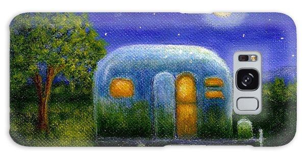 Airstream Camper Under The Stars Galaxy Case by Sandra Estes