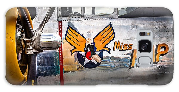 Aircraft Nose Art - Pinup Girl - Miss Hap Galaxy Case