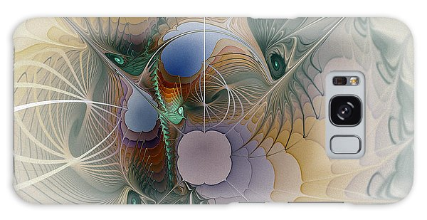 Airy Space-fractal Art Galaxy Case