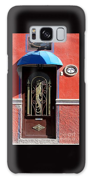Ajijic Door #8 Galaxy Case
