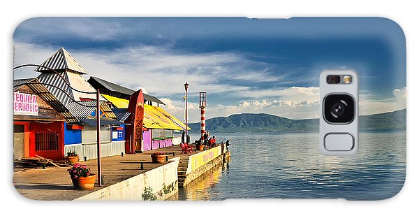 Ajijic Pier - Lake Chapala - Mexico Galaxy Case