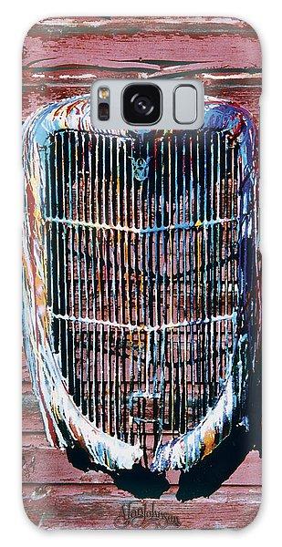 Aj's Grille Galaxy Case by Alan Johnson