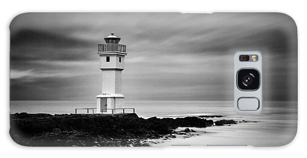 Akranes Lighthouse Galaxy Case