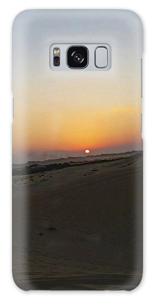 Al Ain Desert 20 Galaxy Case