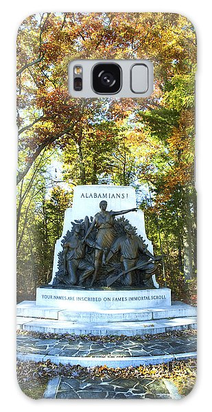 Alabama Monument At Gettysburg Galaxy Case by Paul W Faust -  Impressions of Light