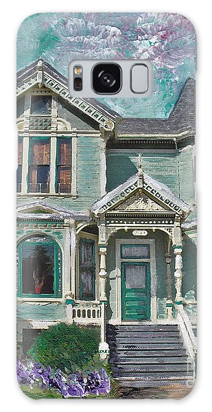Alameda 1897 - Queen Anne Galaxy Case by Linda Weinstock