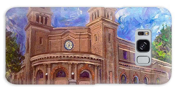 Alameda 1909  Twin Towers Church - Italian Renaissance  Galaxy Case by Linda Weinstock