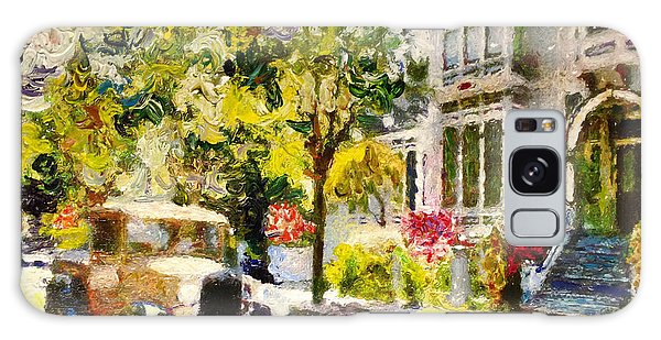 Alameda  Afternoon Drive Galaxy Case by Linda Weinstock