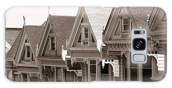 Alamo Square - Victorian Painted Ladies 2009 Galaxy Case by Connie Fox