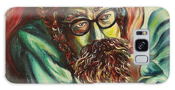 Alan Ginsberg Poet Philosopher Galaxy Case