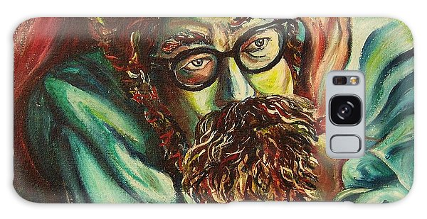 Alan Ginsberg Poet Philosopher Galaxy Case