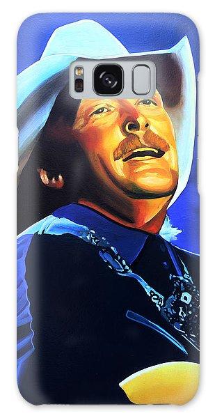 Alan Jackson Painting Galaxy Case