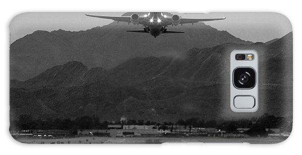 Alaska Airlines Palm Springs Takeoff Galaxy Case