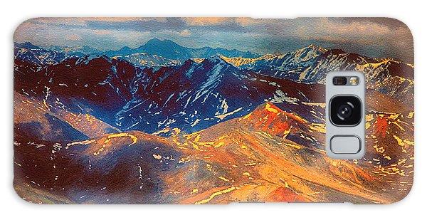 Alaska From The Air Galaxy Case