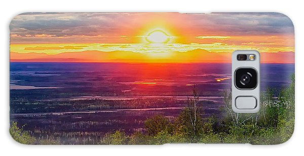 Alaska Land Of The 11 Pm Sun Galaxy Case by Michael Rogers