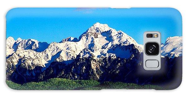 Galaxy Case - Alaska Mountain by Frank Savarese