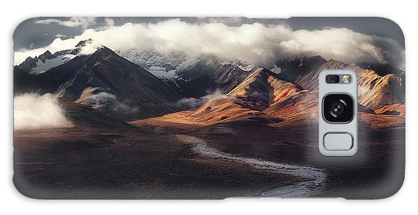 Denali Galaxy Case - Alaska Range by Jerrywangqian