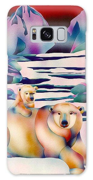 Alaska Spirit Galaxy Case by Julianne  Ososke