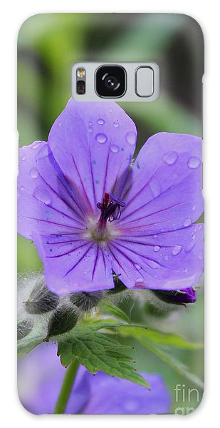 Galaxy Case featuring the photograph Alaska Wildflower by Kate Avery