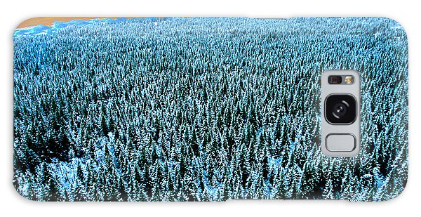 Galaxy Case - Alaska Woods by Frank Savarese