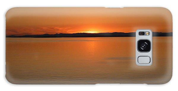 Alaskan Dawn Galaxy Case by David Nichols