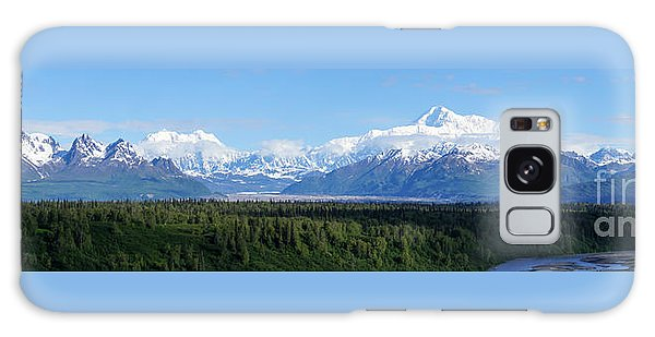 Alaskan Denali Mountain Range Galaxy Case