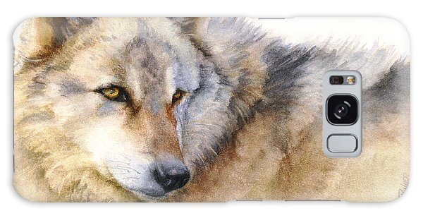 Alaskan Gray Wolf Galaxy Case