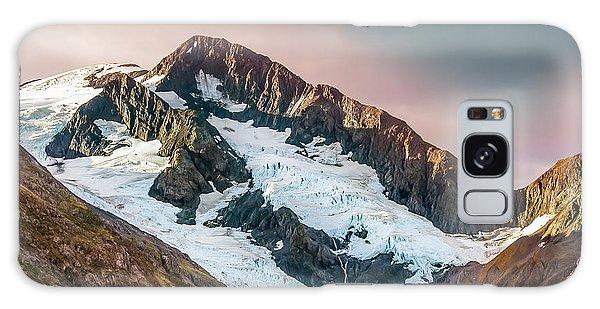 Alaskan Mountain Glacier Galaxy Case