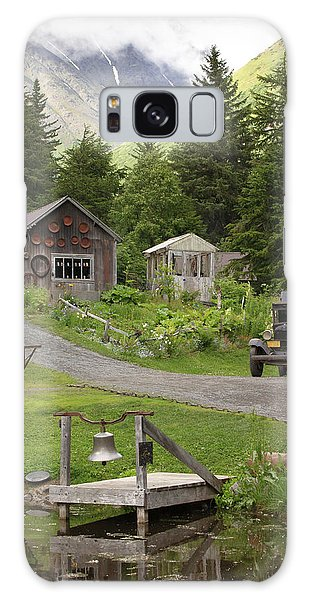 Alaskan Pioneer Mining Camp Galaxy Case