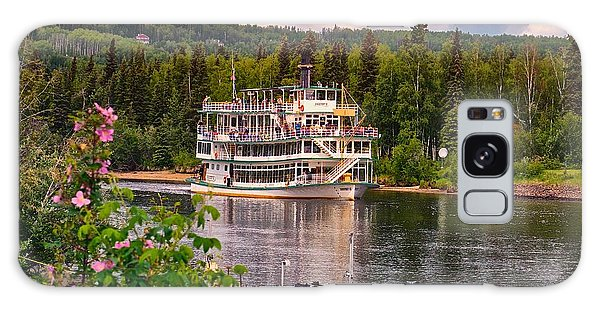 Alaskan Sternwheeler The Riverboat Discovery Galaxy Case by Michael Rogers
