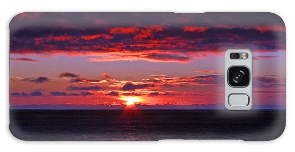 Alaskan Sunset Galaxy Case