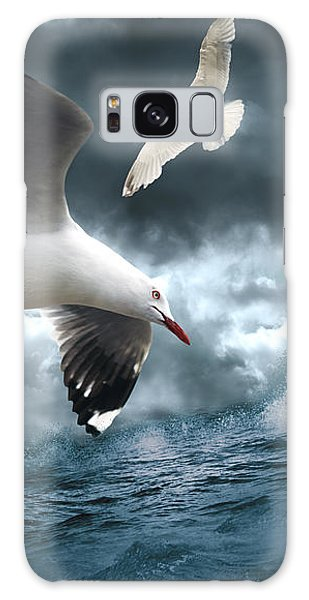 Albatross Galaxy Case by Linda Lees
