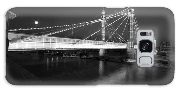 Albert Bridge At Night  Galaxy Case