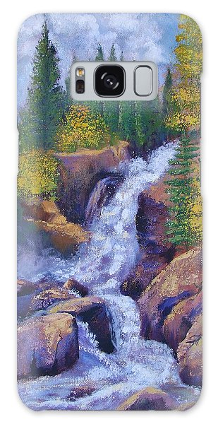 Alberta Falls Galaxy Case by Margaret Bobb