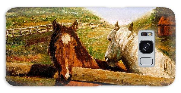 Alberta Horse Farm Galaxy Case