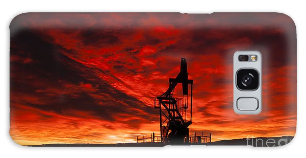 Alberta Sunrise Galaxy Case by Vivian Christopher