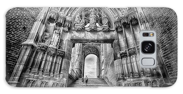 Albi Cathedral Arch To Heaven Bw Galaxy Case by Jack Torcello