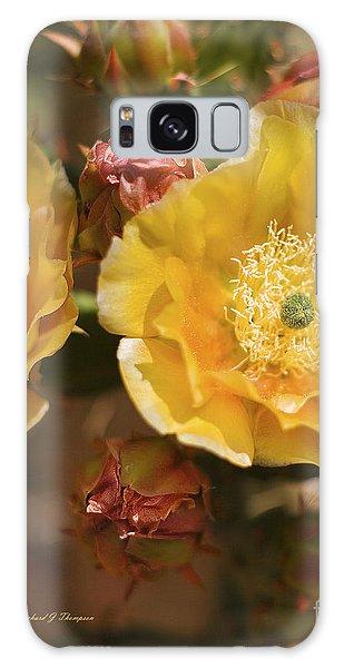 'albispina' Cactus #2 Galaxy Case
