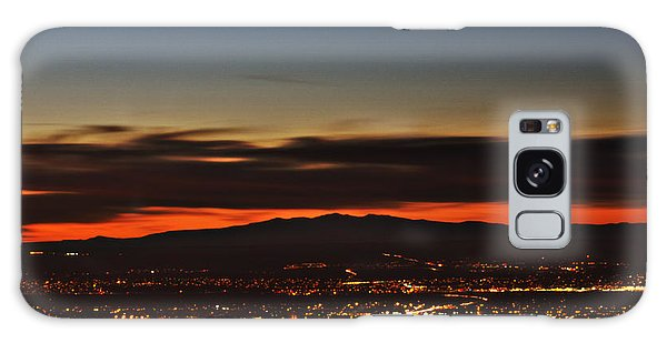 Albuquerque Sunset Galaxy Case by Marlo Horne