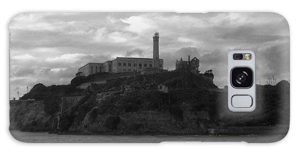 Alcatraz Island B N W Galaxy Case
