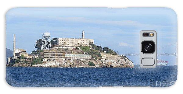 Alcatraz Island Galaxy Case by Mary Mikawoz