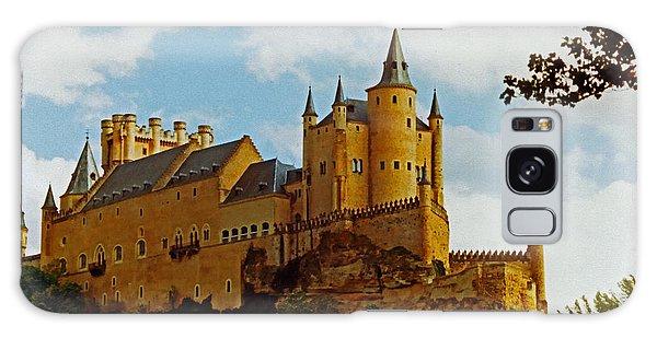Alcazar Castle In Segovia Spain Galaxy Case