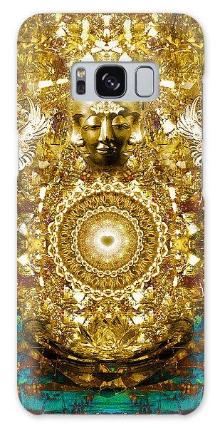 Alchemy Of The Heart Galaxy Case by Jalai Lama