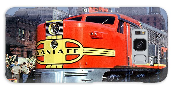 Alco Pa-1 51 Santa Fe Chief Diesel Locomotive Chicago 1946 Galaxy Case