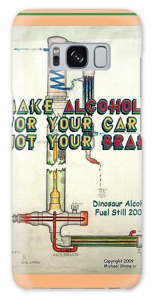 Alcohol For Car Not Brain Poster Galaxy Case