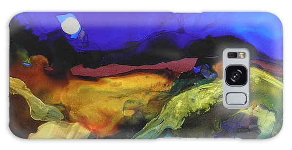 Alcohol Ink Landscape # 164 Galaxy Case